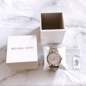 Michael Kors Silver Runway Watch